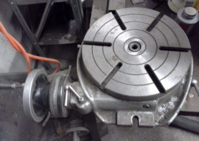 machining rotary mill table
