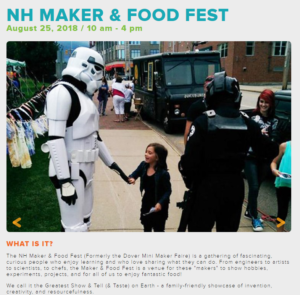 NH Maker and Food Fest 2018