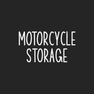 Rent motorcycle storage