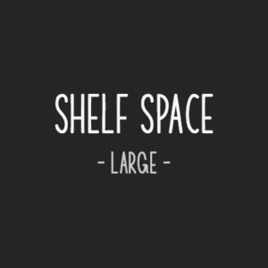 Rent a large shelf space