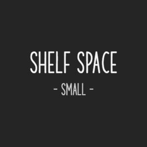 Rent a small shelf space
